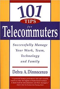 101 tips for telecommuters book cover