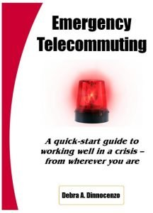 emergency telecommuting book cover