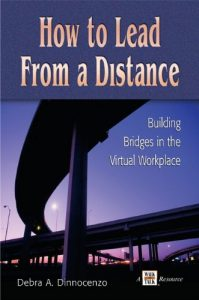how to lead from a distance book cover